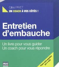 Entretien d'embauche : un livre pour vous guider, un coach pour vous répondre