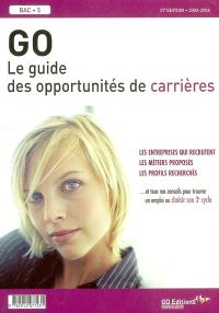 GO, le guide des opportunités de carrières 2003