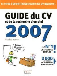 Guide du CV et de la recherche d'emploi 2007