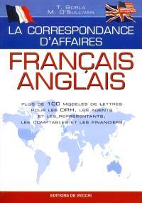 La correspondance d'affaires, français-anglais