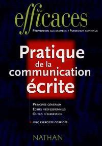 Pratique de la communication écrite