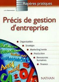 Précis de gestion d'entreprise