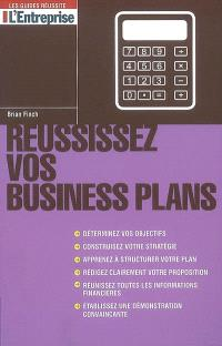 Réussissez vos business plans