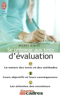 Se préparer aux tests d'évaluation