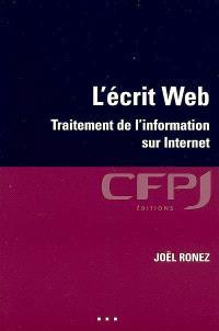 L'écrit Web : traitement de l'information sur Internet