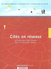 Cités en réseaux : actualité des Villes Internet avec la Caisse des dépôts