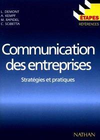 Communication des entreprises : stratégies et pratiques