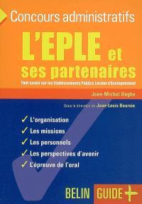L'EPLE et ses partenaires : tout savoir sur les établissements publics locaux d'enseignement