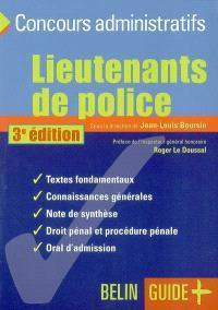 Lieutenants de police