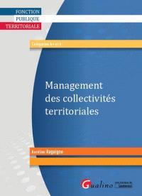 Management des collectivités territoriales : catégories A+ et A