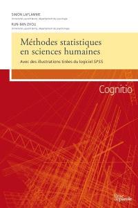 Méthodes statistiques en sciences humaines  : avec des illustrations tirées du logiciel SPSS
