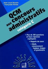 QCM aux concours administratifs : catégorie C