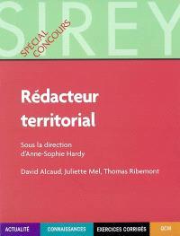 Rédacteur territorial : actualité, connaissances, exercices corrigés, QCM