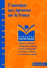 S'entraîner aux épreuves sur la France