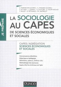 La sociologie au Capes de sciences économiques et sociales : Capes-agrégation sciences économiques et sociales