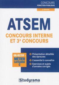 ATSEM, concours interne et 3e concours : objectif métier catégorie C