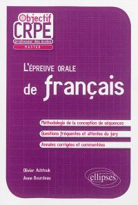 L'épreuve orale de français