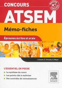 Mémo-fiches concours ATSEM : épreuves écrites et orale