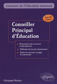 Conseiller principal d'éducation : externe, interne, troisième concours