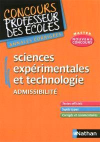 Annales corrigées CRPE sciences expérimentales et technologie : 2011