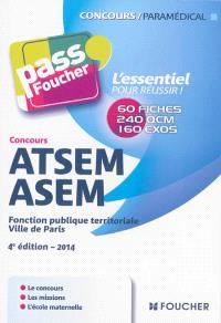 ATSEM-ASEM : fonction publique territoriale, Ville de Paris