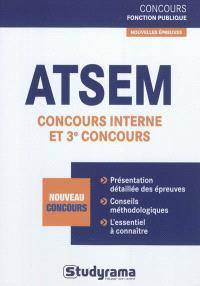ATSEM concours interne et 3e concours : nouveau concours