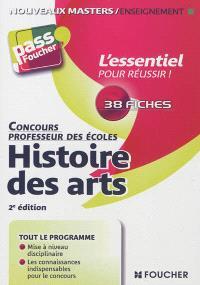 Histoire des arts : concours professeur des écoles