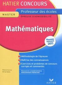 Mathématiques : épreuve écrite d'admissibilité : nouveau concours 2011