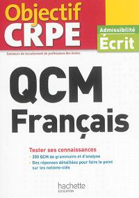 QCM français : tester ses connaissances : admissibilité écrit