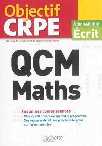 QCM maths : tester ses connaissances : admissibilité écrit