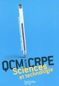 QCM sciences et technologie pour le CRPE : testez vos connaissances
