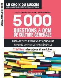 5.000 questions & QCM de culture générale