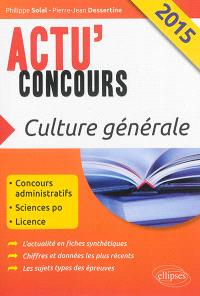 Culture générale 2015