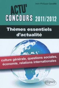 Thèmes essentiels d'actualité 2011-2012