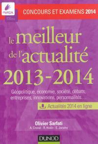 Le meilleur de l'actualité 2013-2014