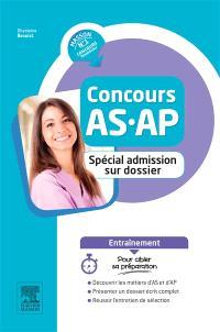Concours AS-AP : spécial admission sur dossier et entretien : entraînement