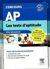 Concours AP : les tests d'aptitude : pack 2 volumes