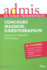 Concours masseur-kinésithérapeute : épreuves d'admission, entraînement