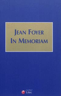 Jean Foyer in memoriam