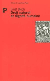 Droit naturel et dignité humaine