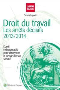 Droit du travail : les arrêts décisifs, 2013-2014