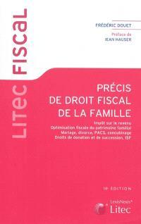 Librairie Mollat Bordeaux Precis De Droit Fiscal De La Famille