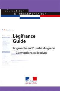 Légifrance guide : augmenté en 2e partie du guide Conventions collectives
