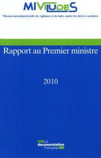 Rapport au Premier ministre 2010