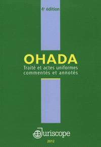 Traité et actes uniformes commentés et annotés