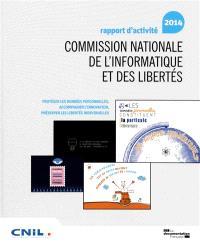 Commission nationale de l'informatique et des libertés : rapport d'activité 2014