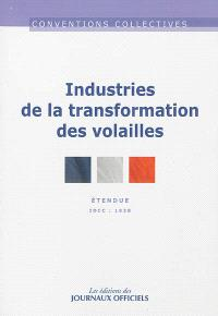 Industries de la transformation des volailles : convention collective étendue : IDCC 1938