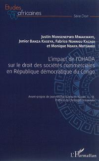 L'impact de l'OHADA sur le droit des sociétés commerciales en République démocratique du Congo