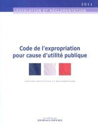 Code de l'expropriation pour cause d'utilité publique