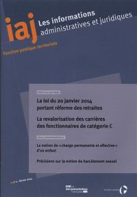 Informations administratives et juridiques. n° 2 (2014)